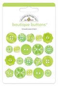Limeade Boutique Buttons - Doodlebug Design