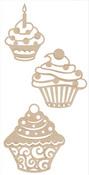 Cupcakes Flourishes - KaiserCraft