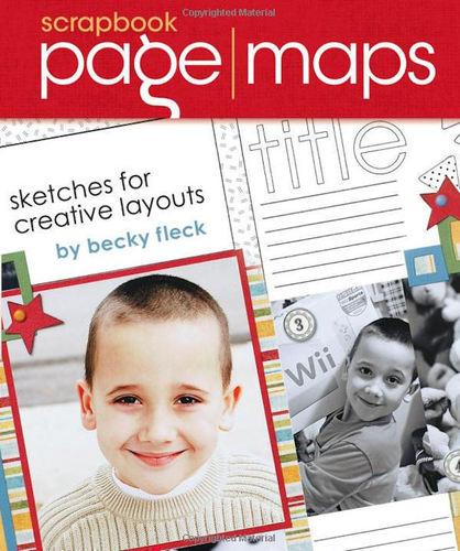 Scrapbook Page Maps By Becky Fleck