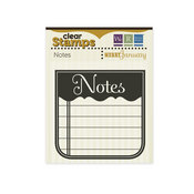 Notes Clear Stamps - Merry January By We R Memory Keepers