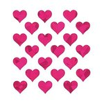 Glitter Hearts Stickers - SandyLion
