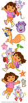 Dora The Explorer Stickers
