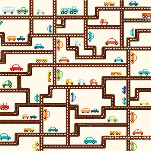 Road Map Paper - Little Boy By Echo Park