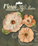 Peach Velvet & Lace - Chantilly Collection By Petaloo