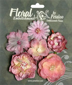 Mauve Mixed Blooms - Chantilly Collection By Petaloo