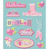 Ballet Dance Stickers
