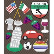 Italian America Stickers