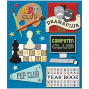 School Clubs Medley Stickers