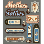 Family Names Stickers
