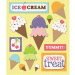 Ice Cream Party Stickers