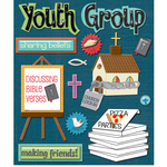 Church Youth Group Stickers