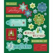Winter Words Stickers