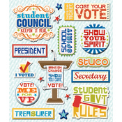 Student Government School Stickers