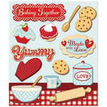 Baking Together Stickers