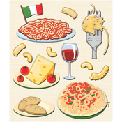 Italian Food Stickers