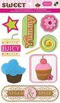 Sweet Felt Stickers By DCWV