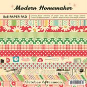 Modern Homemaker 8 x 8 Paper Pad - October Afternoon