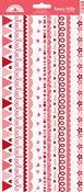 Sweet Love Fancy Frills Cardstock Border Stickers - Doodlebug