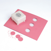 Rose Window Punch All Over The Page - Martha Stewart Crafts