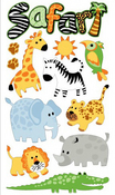Safari Sticko Stickers