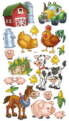 Farm Friends Sticko Stickers