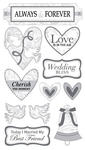 Always And Forever Wedding Sticko Stickers