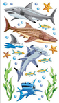 Sharks Sticko Stickers