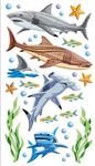 Sharks Sticko Stickers