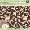 Flora & Fauna Glitter Paper Pack