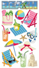 Beach Time Sticko Stickers