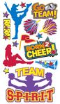 Cheerleaders Sticko Stickers