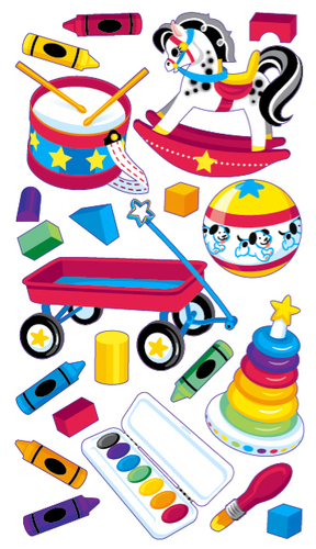 Baby Toys Sticko Stickers