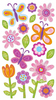 Whimsical Garden Sticko Stickers