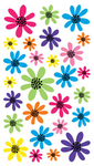 Doodle Daisies Sticko Stickers