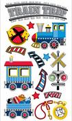 Trains Sticko Stickers