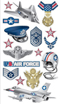 Air Force Sticko Stickers