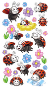 Ladybugs Sticko Stickers