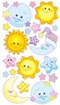Twinkle Twinkle Baby Sticko Stickers