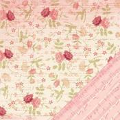 Floral Ledger Paper - Je t'Adore By Making Memories