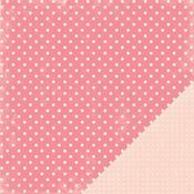 Pink Dots Paper - Je t'Adore By Making Memories