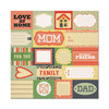 Carrie Glitter Cardstock Paper - Family Keepsake By We R Memory Keepers