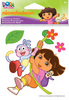 Dora & Boots Embroidered Stickers - EK Success