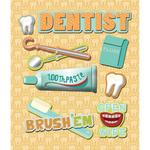 Dentist Sticker Medley
