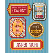 Dinner Night Stickers