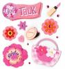 Girly Girl Stickers