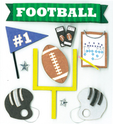 Game Day Football Stickers