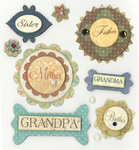 Family Members Stickers