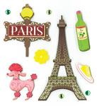 Paris Pleasures Stickers