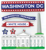 Washington DC Stickers