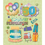 50th Birthday Stickers